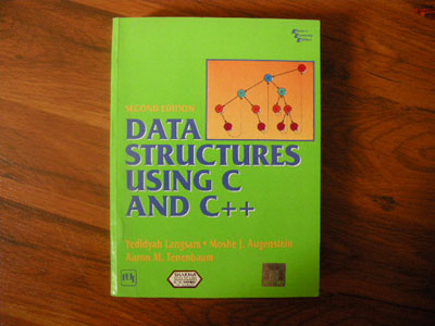 Data Structures Using C And C Langsam Augenstein Tenenbaum